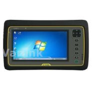 "Trimble Yuma 2 CLX Rugged Tablet Computer [UK/EU/US/AUS] / Gray/Yellow / Win 7 Pro / 7"" Touch Display / 802.11b/g/n / Dual-Mode 3.75G WWAN / 5MP AF Camera+LED Flash / Bluetooth / GPS / 128GB SSD (incl Std Battery / Charger [UK/EU/US/AUS] / Hand Strap)"