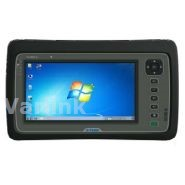 "Trimble Yuma 2 CLX Rugged Tablet Computer [UK/EU/US/AUS] / Gray/Gray / Win 7 Pro / 7"" Touch Display / 802.11b/g/n / Dual-Mode 3.75G WWAN / 5MP AF Camera+LED Flash / Bluetooth / GPS / 128GB SSD (incl Std Battery / Charger [UK/EU/US/AUS] / Hand Strap)"